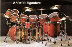 Sonor Signature Bubinga Wood Set