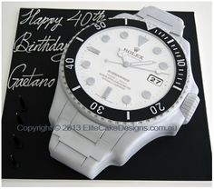 Rolex Watch birthday cake More Fashion At www.thedillonmall.com