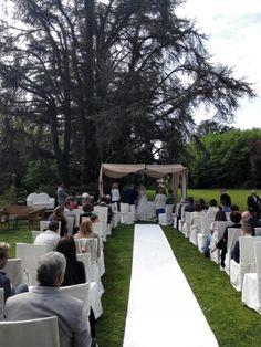 Cerimonia in Villa Selmi