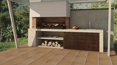 Barbacoa a Medida Amina Design Barbecue, Barbecue Grill, Bbq Kitchen, Kitchen Decor, Barbacoa Jardin, Parrilla Exterior, Design Jardin, Backyard Patio Designs, Bbq Area