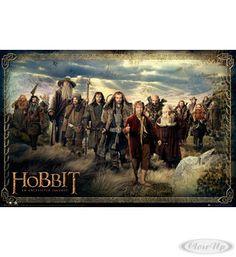 The Hobbit Poster Cast Hier bei www.closeup.de