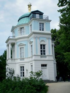 "Charlottenburg Palace ~ Berlin ~ Germany ~ Tea house ""Belvedere"" on the palace grounds."