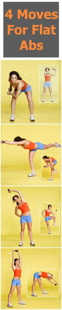 4 Moves for Flat Abs