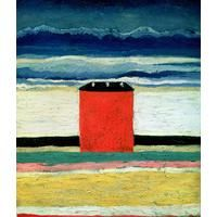 The Red House By Kazimir Malevich: Category: Art Currency: GBP Price: GBP39.00 Retail Price: 39.00 European Abstract Landscape Art Prints…