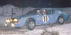 Monte Carlo 1975 - Warmbold Achim - Davenport JohniconAlpine-Renault A310 1800