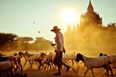 Bagan bliss  La città di Bagan, in Birmania.