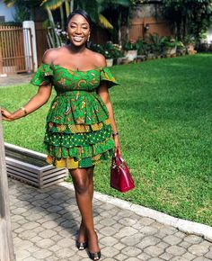 """The best ankara dress styles are absolutely top notch.African fashion with its ankara styles and lace styles popularly known as as """"asoebi"""" are here to stay. African Print Dresses, African Print Fashion, Africa Fashion, African Fashion Dresses, African Attire, African Wear, African Women, African Dress, African Style"""