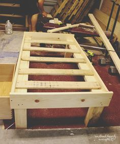 We Lived Happily Ever After: How To Build A $25 Toddler Bed