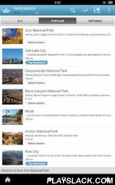 Utah Travel Guide By Triposo  Android App - playslack.com , Features of Triposo's guide to Utah:★ Suggestions of what's interesting to see and do in Utah, depending on time, weather and your location;★ A detailed sights section with all the monuments of Salt Lake City, Park City, St. George, Provo;★ Eating out section with the best restaurants in Salt Lake City, Park City, St. George, Provo;★ Discover the nightlife of Utah! Bars, pubs & disco's in Salt Lake City, Park City, St. George…