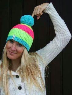 C Knitted Hats, Crochet Hats, Craft Fairs, Dress Making, Lana, Headbands, Beanie, Hat Patterns, Seasons