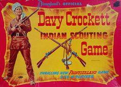 Davy Crockett Indian Scouting Game