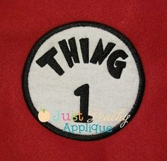 Silly Things Patches Applique Design