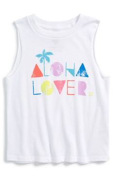 Billabong+'Aloha+Lover'+Muscle+Tee+(Big+Girls)+available+at+#Nordstrom