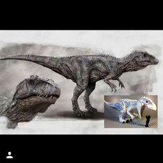 Jurassic World Diabolus/ Indominus Rex fanart