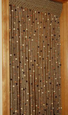 Natural Jute crochet curtain door or  window