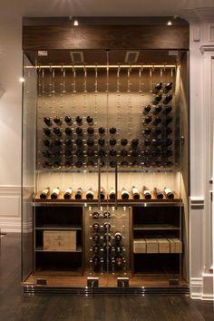 """#Vinho... """" Adega dos Sonhos """" ☆ ♡ ☆ #design #inovação #elegância"""