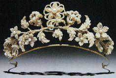 Seed Pearl Tiara