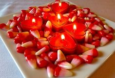 Centros de Mesa para San Valentín o Aniversarios www.espaciohogar.com