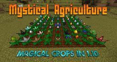 Mystical Agriculture Mod 1.11.0/1.10.2 - minecraft mods 1.11 : Mystical Agriculture Mod enable players to engage their orchards more than colle ...   | http://niceminecraft.net/tag/minecraft-1-11-0-mods/