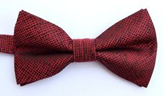 OCIA® Mens Woven Microfiber Handmade Bow Tie - ND012 at Amazon Men's Clothing store: