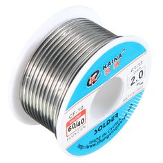 66e1e2319f5 2.0mm Tin lead Solder Wire Rosin Core Soldering 2% Flux Reel Tube 60
