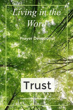 Trust, Prayer Devotional