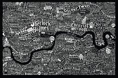 London Literary Map