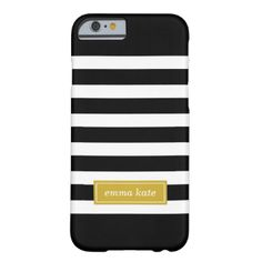 Cute girly modern preppy stripe pattern, personalized with a simple classic name monogram in a contrasting colored frame. Click It to change text font and color to create your own unique one of a kind design! #stripe #stripes #striped #modern #preppy #nautical #monogram #personalized #custom #name #pattern #white #lines #geometric #cute #graphic #design #classic #classy #trendy #chic #monogram #phone #case #personalized #phone #cases #monogrammed