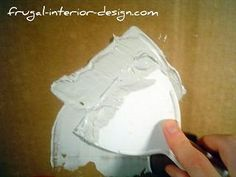 Step-by-step Tutorial - Faux Venetian Plaster Technique using Joint Compound joint compound, faux finish, crafts with texture paint