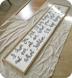 make long sign with different message Bedroom Signs, Bedroom Art, Master Bedrooms, Making Signs, How To Make Signs, Wood Signs Sayings, Diy Wood Signs, Apartment Bedrooms, Tv Wall Decor