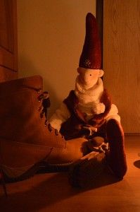 mikołaj, skrzat, elf, tilda, lalka