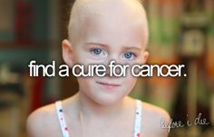 someday we will find a cure<3