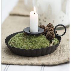 Tischdekoration Advent festlich für Kerzen Ib Laursen erhältlich im Onlineshop derkariertehund.de