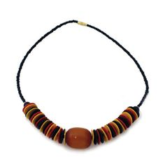 Coconut Bead Necklace  Made in Kenya