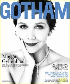 'White House Down' actress Maggie Gyllenhaal covers #Gotham magazine Summer 2013 issue, on newsstands now!