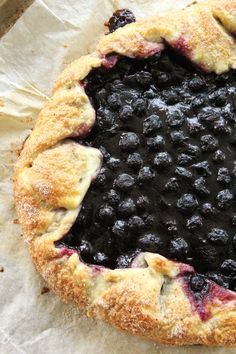 Saskatoon Berry Galette. This Saskatoon Berry Galette is a delicious dessert idea that uses a really great baking shortcut!