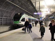 Helsinki airport rail link opens - Railway Gazette
