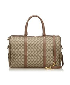 eaa4ac8463f7 GUCCI PRE-OWNED  GUCCISSIMA DUFFLE BAG.  gucci  bags  leather