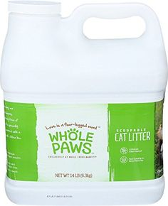 Whole Paws Scoopable Cat Litter 14 Pound