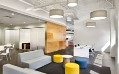W.L. Gore's New 'Activity Based Workplace' - Steelcase furniture
