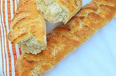 Crusty Yogurt Sourdough French Peasant Bread
