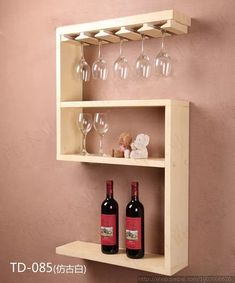 Ineffable Chest of Drawers from Wooden Pallets Ideas. Prodigious Chest of Drawers from Wooden Pallets Ideas. Wine Shelves, Pallet Shelves, Wine Storage, Wood Wine Bottle Holder, Wood Wine Racks, Pallet Projects, Woodworking Projects, Pallet Wall Hangings, Hanging Wine Rack