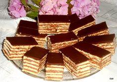 Hungarian Desserts, Hungarian Cake, Tiramisu, Food To Make, Food And Drink, Candy, Chocolate, Ethnic Recipes, Pastries