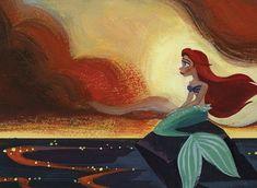 Ariel by Lorelay Bové. ¿Por qué nos gustan las películas de Disney?