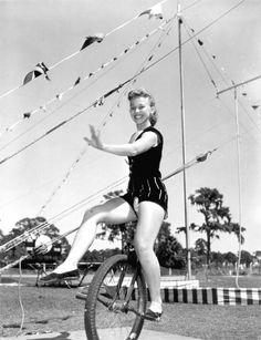 Sarasota High School Sailor Circus performer