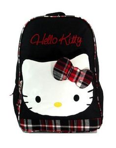 Hello Kitty Mad for Plaid Backpack Hello Kitty. $28.00