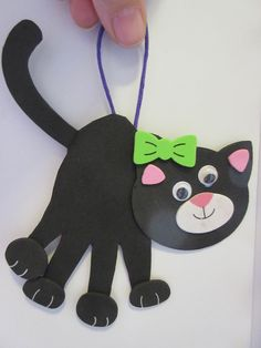 Chat Felt Crafts, Origami, Crafts For Kids, Animales, Bern, Bags, Cat, Tutorials, Kids Arts And Crafts