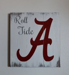 Alabama Roll Tide by LettersbyTina on Etsy