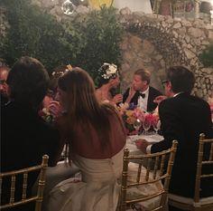 Con Anna Dello Russo de espalda, as� se vivi� la cena