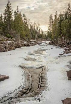 Temperance River, Minnesota by Thomas J Spence
